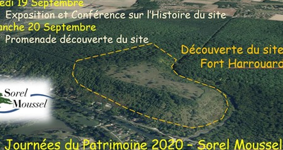 JEP : A la découverte du Fort Harrouard à Sorel-Moussel