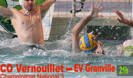 Water-polo national 3 CO Vernouillet - Granville